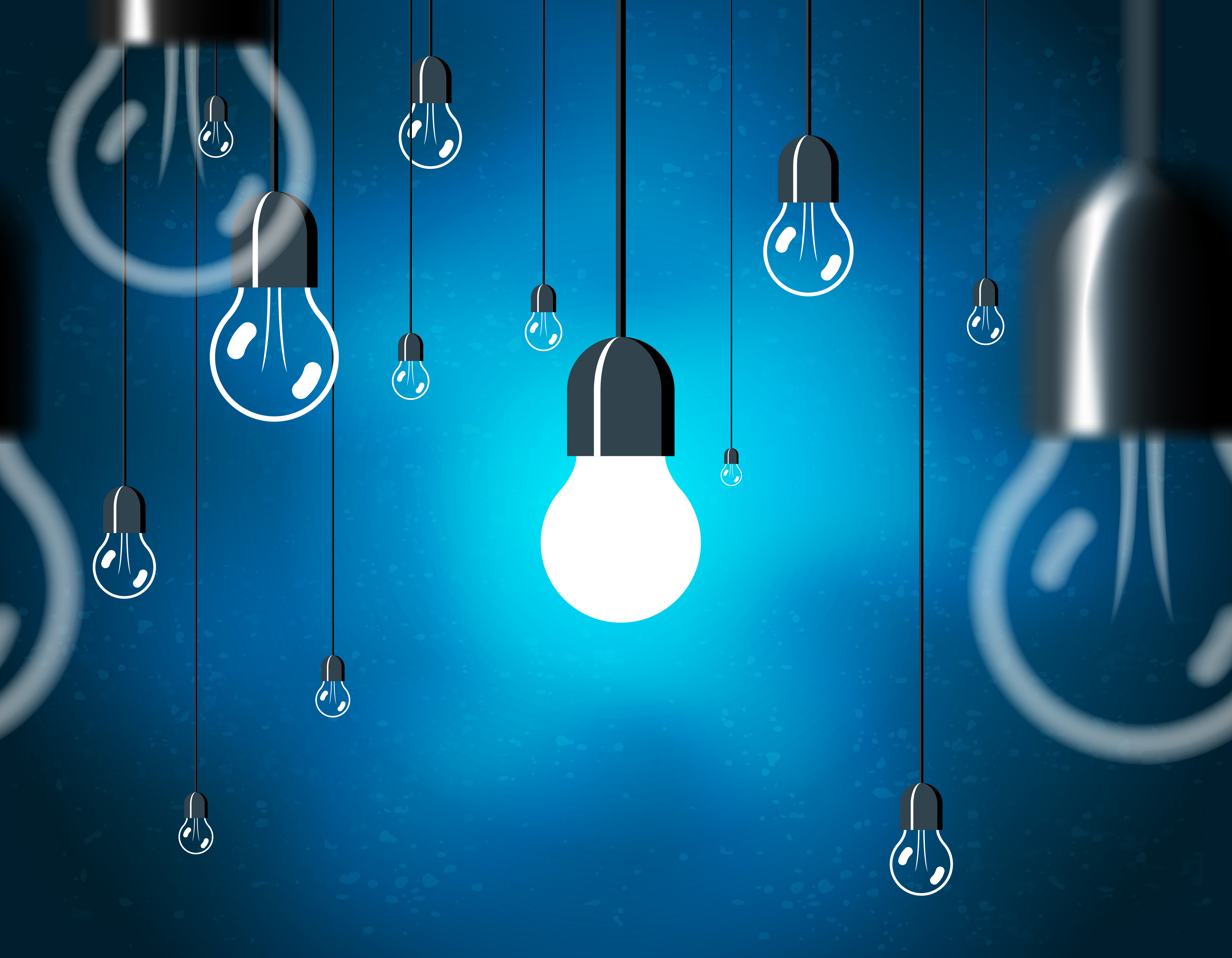 Light Bulb depicting the thought a leader has
