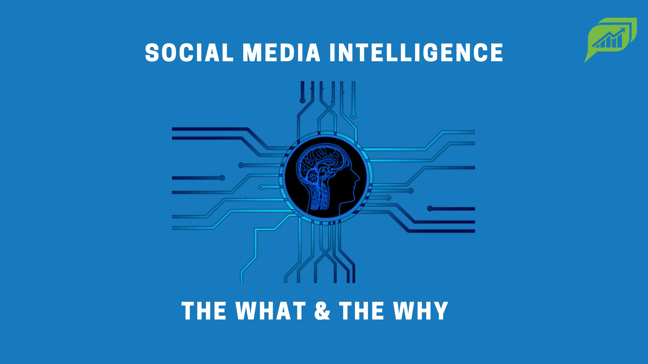 Social Media Intelligence 101